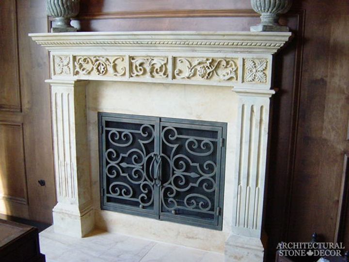 Architectural-Stone-Decor-Limestone-Stone-Fireplace-Antique-Reclaimed-Mantel1
