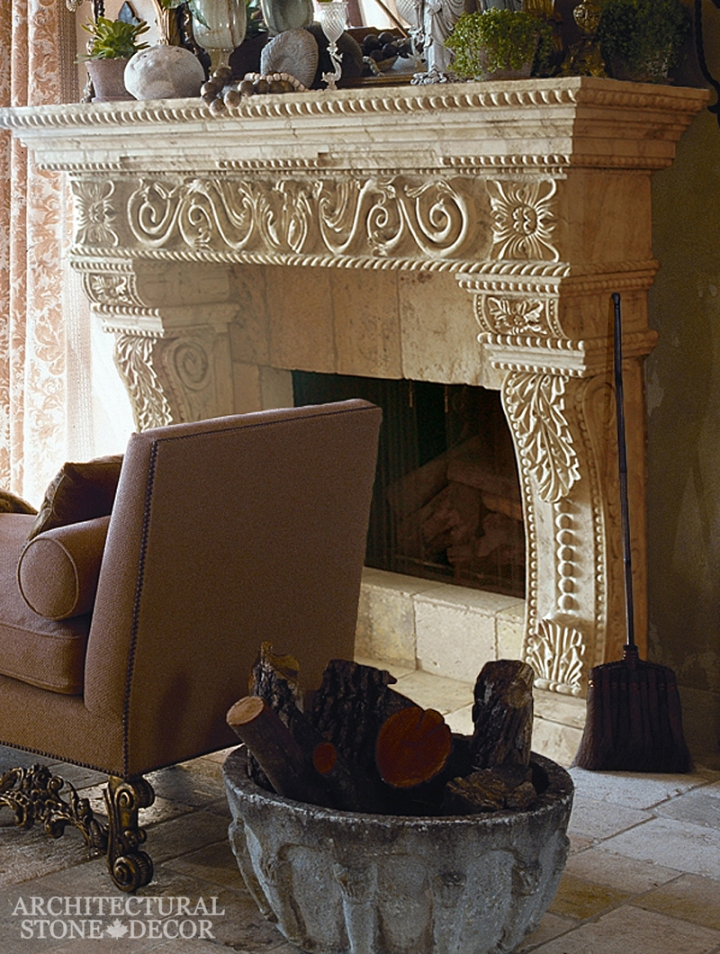 Architectural-Stone-Decor-Limestone-Stone-Fireplace-Antique-Reclaimed-Mantel15
