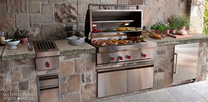 BBQ-05 outdoor kitchen-limestone-canada