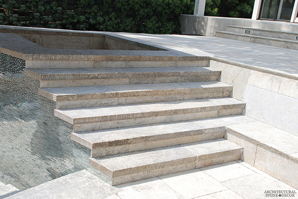 stair steps butcher blocks backyard Reclaimed old rustic Natural Limestone stone hand carved landscape ideas outdoor design eco-friendly sustainable recycled re-modeled re-used Canada