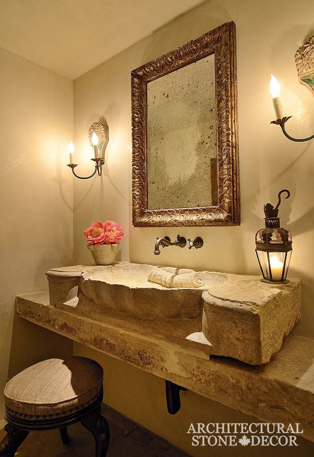 Bathroom-Shell-Limestone-hand-carved-reclaimed-Sink-Tuscan-Style