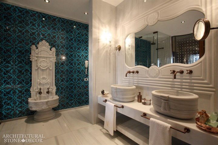 master-bathroom-marble-vessel-egg-reclaimed-hand-carved-Arabesque-Style
