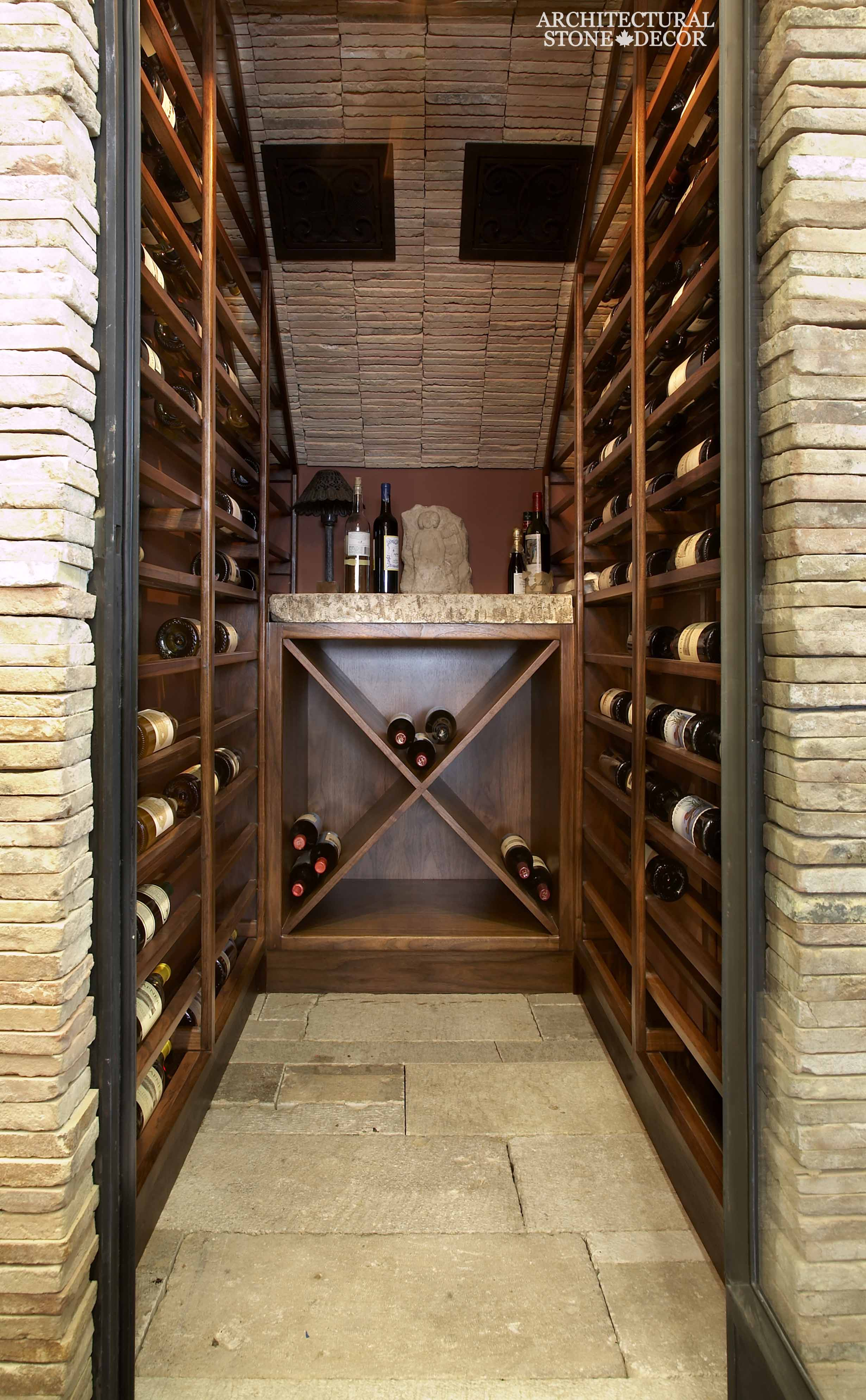 Bottoms up amazing wine cellar ideas for Wine cellar in floor