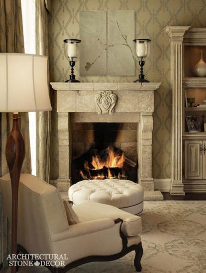 limestone-fireplace-canada