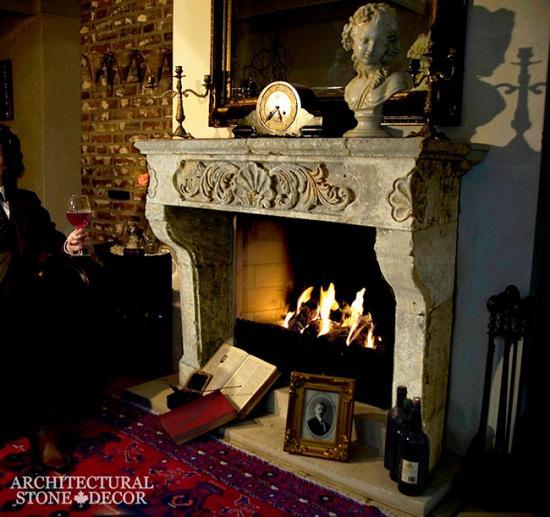restored-limestone-fireplace