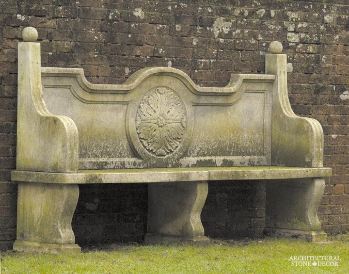 Antique-limestone-hand-carved-benches-outdoor-garden-14