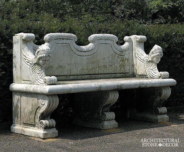 Antique-limestone-hand-carved-benches-outdoor-garden-16