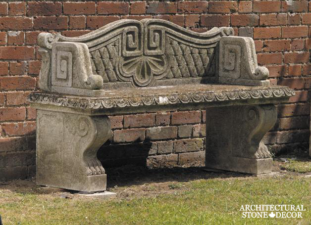 Antique-limestone-hand-carved-benches-outdoor-garden-5