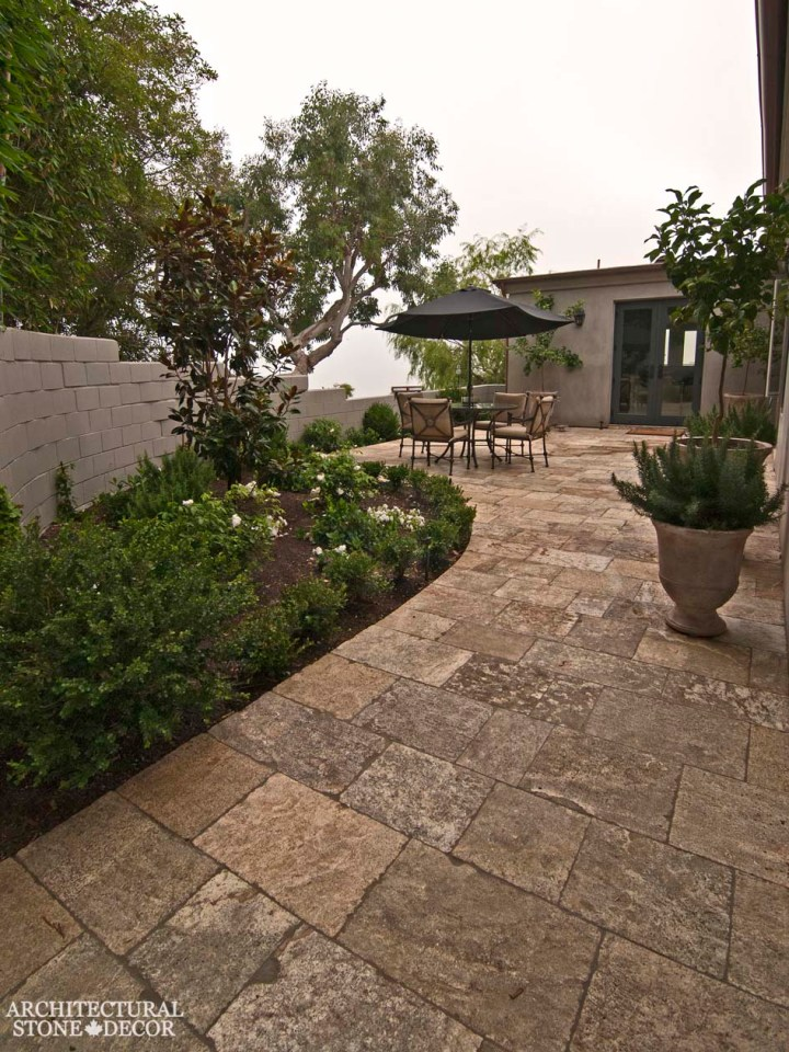 reclaimed antique old natural stone limestone outdoor flooring home decor design ca