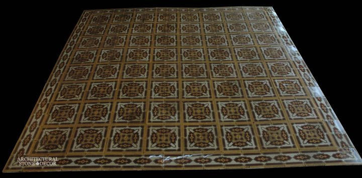 Canada ca Toronto Vancouver reclaimed old french colored cement pavers encaustic tiles flooring home style interior design decor