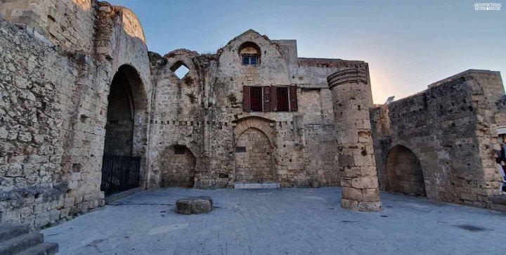 old ruins Rhodes natural Stone architecture design canada ca BC